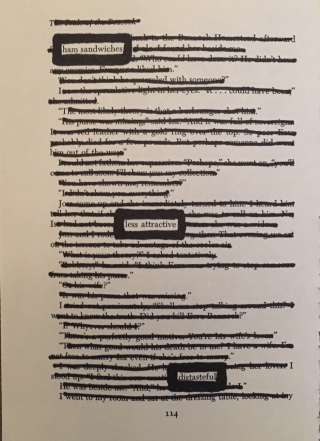 Kirgiss blackout poetry5
